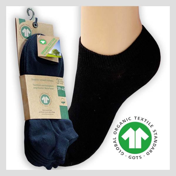 Unisex Sneaker aus GOTS Bio-Baumwolle