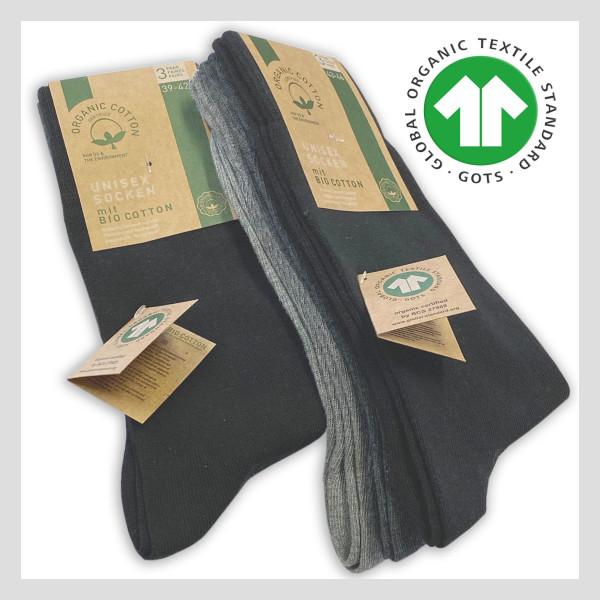 100% GOTS Bio Baumwolle Socken - Sockswear
