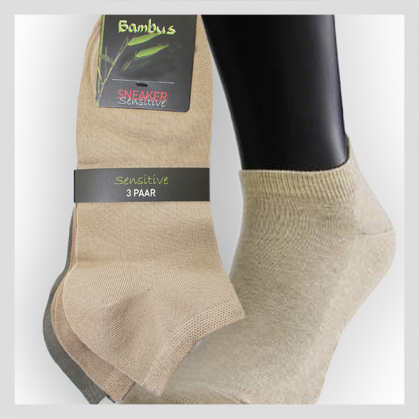 Sneaker Socke aus Bambusfaser