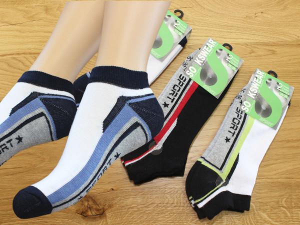 Sport-Sneaker, Doppelpack für Radsport, Laufen und Freizeit