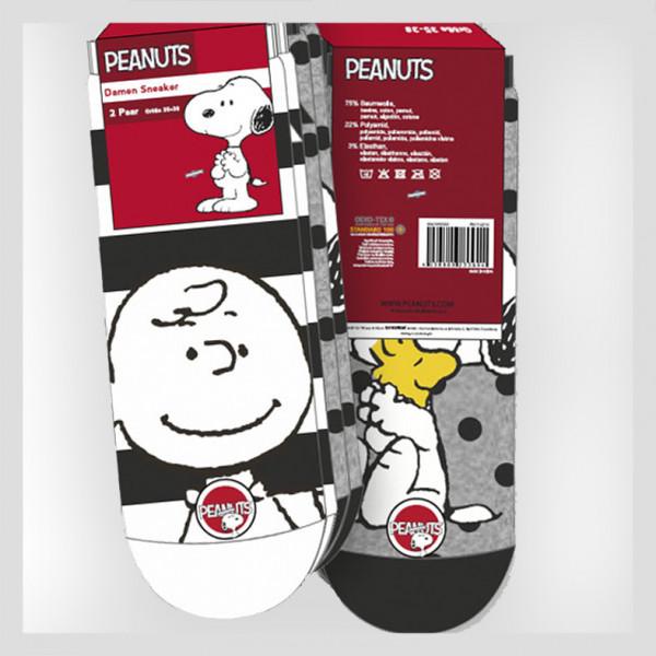 Damen Sneaker mit Peanuts Motiven