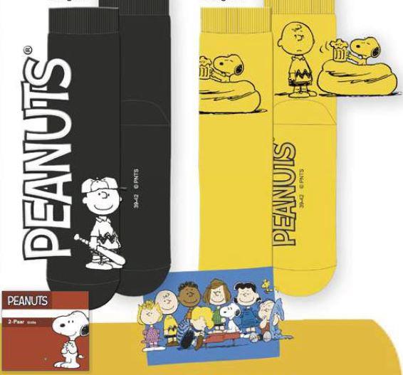 Peanuts Herren Socke 2er Pack