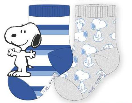 Peanuts Baby Socke BOY 2er Pack