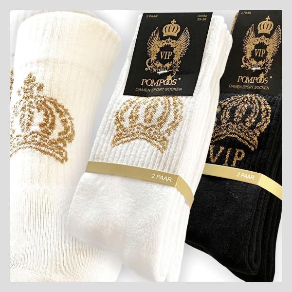 Damen Sport Socke im POMPÖÖS Design