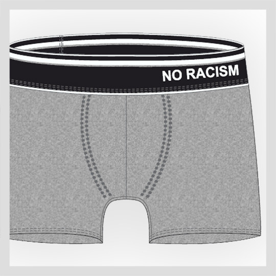 NO RACISM Hipster
