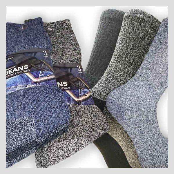 Herren Jeans & Freizeit Socke