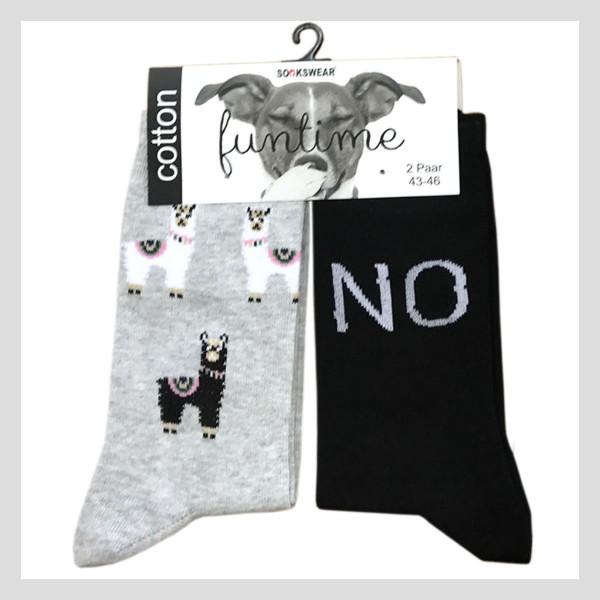 """Fun Socke """"No-Lama"""""""