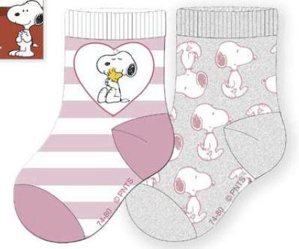 Peanuts Baby Socke GIRL 2er Pack