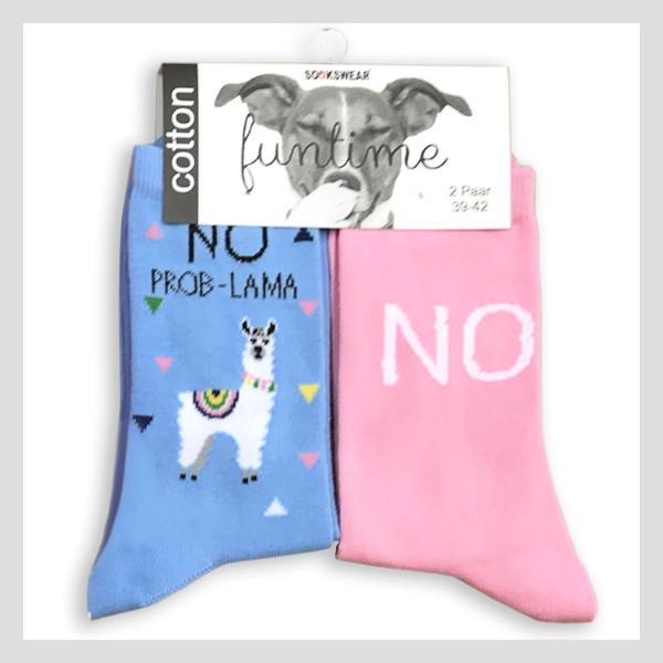 "Fun Socke ""No-Problama"""