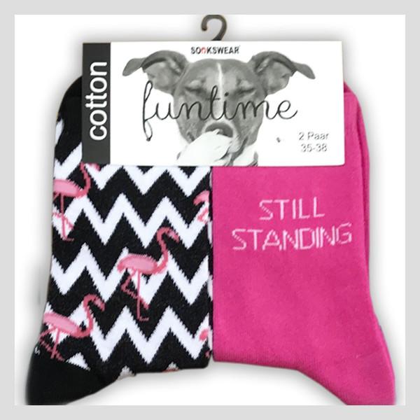 """Fun Socke """"Flamingo"""""""