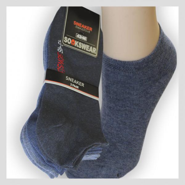 Sneaker Socke - Jeans