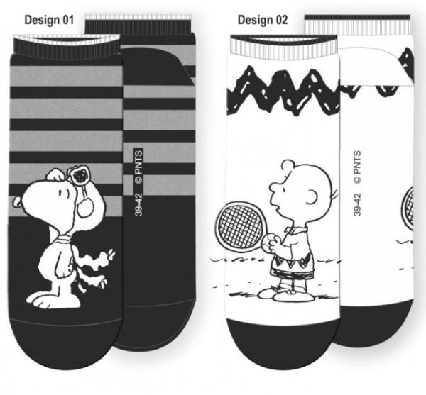 Peanuts Herren Sneaker 2er Pack