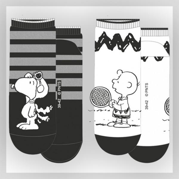 Herren Sneaker Socke mit Peanuts Motiven
