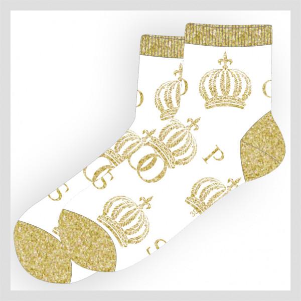 Damen Kurzschaft Socke im POMPÖÖS Design