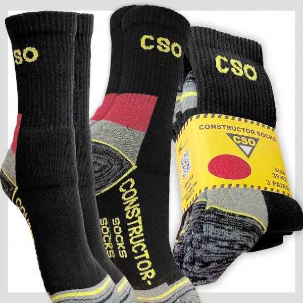 Herren CSO Constructor Socke