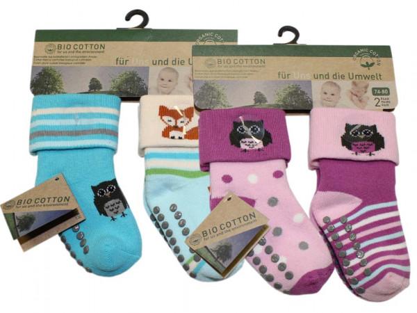 Baby Socken aus Baumwolle